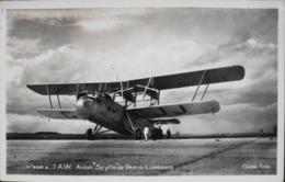 """CPA. > Avions > 1919-1938: Entre Guerres > I.A.W. Avion """" SCYLLA """" De La Ligne Paris-Londres / Bale-Zurich - TBE - 1919-1938: Fra Le Due Guerre"""
