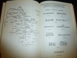 """MARQUES POSTALES ET OBLITERATIONS DE L'ISERE DES ORIGINES A 1876 N°37 - """" 93 Bureaux """"  - PHILATELIE STAMPS BOOK (C.B) - Annullamenti"""