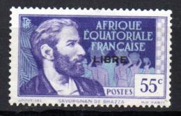 Col17  Colonie AEF Afrique N° 108  X MH Cote 1,80€ - A.E.F. (1936-1958)