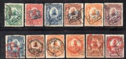 APR2948 - HAITI 1904 , Yvert N. 84A/89A + 90/96 Usata  (2380A) - Haiti