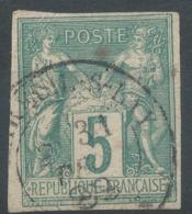 Lot N°51260  N°75 Non Dentelé, Oblit Cachet à Date De MAREUIL-S-LAY, Vendee 79 - 1876-1898 Sage (Type II)