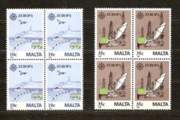 Malte Malta CEPT 1988 Yvertn° 773-74 *** MNH 4 Séries Cote 24,00 Euro - Europa-CEPT