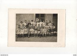D36  VILLEDIEU  BELLE PHOTO DE CLASSE MATERNELLE VERS 1950 - France