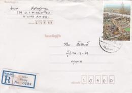 BUSTA VIAGGIATA RACCOMANDATA  - TAILANDIA - KLAENG - Tailandia