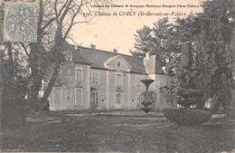 71 - St-Gervais-en-Vallière - Beau Cliché Du Château De Cercy - N°2 - France