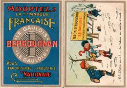 Calendrier 1923 Bergougnan. Poulbot. Enfants Dans La Neige. - Kalenders
