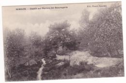 Prix Fixe - Nemours - Le Chemin Aux Rochers Des Beauregards # 9-11/8 - Nemours