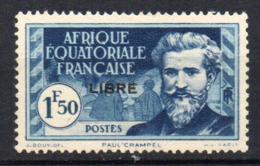 Col17  Colonie AEF Afrique N° 118 Neuf  X MH Cote 1,20€ - A.E.F. (1936-1958)
