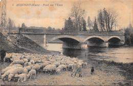ACQUIGNY - Pont Sur L'Eure - Moutons - Acquigny