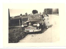"""Photo (6 X 9 Cm ) D'une Automobile """" VANGUARD Standard """" TILFF 1957 - Voiture, Auto, Oldtimer,...(b261) - Automobiles"""