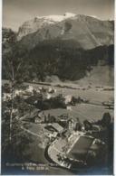 """SCHWEIZ ENGELBERG 1930, Ungebr. S/w RP (Elite-Bromsilber) AK """"ENGELBERG M. Neues Strandbad & Titlis"""" (Postkartenverlag - OW Obwald"""