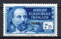 Col17  Colonie AEF Afrique N° 122 Neuf  XX MNH Cote 25,00€ - A.E.F. (1936-1958)