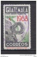 ##16, Guatemala, Jeux Olymiques, Olympic Games, Sculpture, Oiseau, Bird - Guatemala