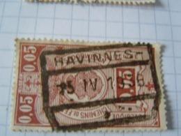 Tr 135 Obl  Havinnes - Chemins De Fer
