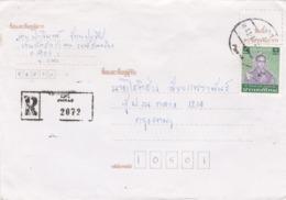 BUSTA VIAGGIATA RACCOMANDATA  - TAILANDIA - PHRAE - Tailandia