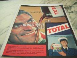 ANCIENNE PUBLICITE RENDEZ VOUS AVEC AVEC TOTAL  1961 - Other