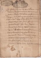 Gard Ardèche St Paulet De Caisson St Marcel D'Ardèche Années 1650/96 Dot/mariage... - Historical Documents