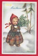 CARTOLINA VG ITALIA - BUON ANNO - Bambini Con Mazzo Di Fiori - MARIAPIA - 10 X 15 - 1964 - New Year