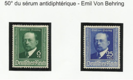 Allemagne N° 684 Et 685 De 1940 - Deutschland