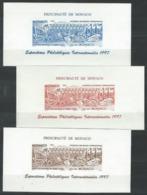 LZ--079--   LES 3 FEUILLETS DE L'EXPO. INTERNATIONAL De 1997, N° 2082/83, TTB Occase A Saisir - Blocs