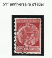 Allemagne N° 668 Oblitéré De 1940 Hitler - Deutschland