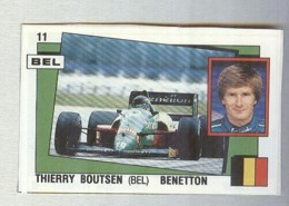 THIERRY BOUTSEN....PILOTA....AUTO..CAR....VOITURE....CORSE...FORMULA 1 UNO - Car Racing - F1