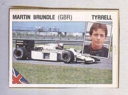MARTIN BRUNDLE...PILOTA....AUTO..CAR....VOITURE....CORSE...FORMULA 1 UNO - Car Racing - F1