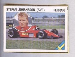 STEFAN JOHANSSON...PILOTA....AUTO..CAR....VOITURE....CORSE...FORMULA 1 UNO - Car Racing - F1