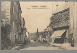 CPA 26 - Nyons - Route De Montélimar - Nyons