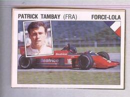 PATRICK TAMBAY....PILOTA....AUTO..CAR....VOITURE....CORSE...FORMULA 1 UNO - Car Racing - F1