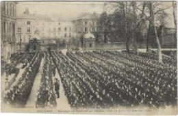 08  Mezieres Serment De Fidelite  Au Drapeau Par Le 91 E Le 17 Janvier  1901 - Other Municipalities