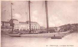 Trouville-reine Des Plages-yatch Au Port.. - Trouville