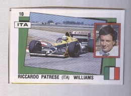 RICCARDO PATRESE......PILOTA....AUTO..CAR....VOITURE....CORSE...FORMULA 1 UNO - Car Racing - F1