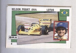 NELSON PIQUET......PILOTA....AUTO..CAR....VOITURE....CORSE...FORMULA 1 UNO - Car Racing - F1