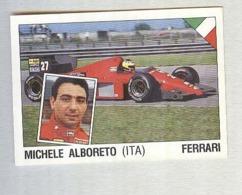 MICHELE ALBORETO.....PILOTA....AUTO..CAR....VOITURE....CORSE...FORMULA 1 UNO - Car Racing - F1