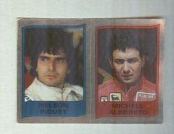 NELSON PIQUET-MICHELE ALBORETO.....PILOTA....AUTO..CAR....VOITURE....CORSE...FORMULA 1 UNO - Car Racing - F1
