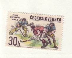 TCHECOSLOVAQUIE 1978 HOCKEY  YVERT N°2266 NEUF MNH** - Hockey (Field)