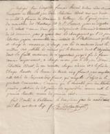 Gard Cession Des Droits Du Fermier Du Domaine De Valbonne Sur Le Jardin Du Monastère Des Chartreux De St Laurent 1836 - Documentos Históricos
