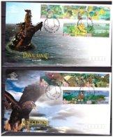 Indonesia 2003 FDC Folktales Dragon Bird Of Prey - Indonesien