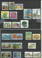 Nouvelle Calédonie Année 2012 Lot De 21 Timbres - Non Classés