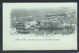 13 MARSEILLE ( BOUCHES- DU- RHÔNE)....PRECURSEUR..VUE GENERALE... PRISE DE N. D. DE LA GARDE...C3275 - Marseille