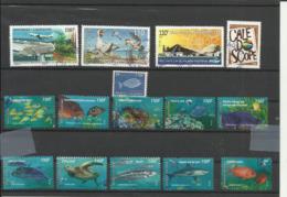 Nouvelle Calédonie Année 2013 Lot De 15 Timbres Oblitérés - Oblitérés