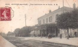 Auvers-sur-oise:vue Intérieure De La Gare. - Auvers Sur Oise