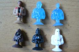 Micropops / Stikeez - 6 Figurines Différentes - Star Wars - Leclerc 2017 - Star Wars