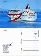 "Ship Postcards - Passenger   Ship : "" Baltic Queen   "" Variant Read Description - Barcos"