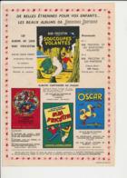 Publicité 1956 Album  Bibi Fricotin Oscar Le Petit Canard  223CH22 - Vieux Papiers