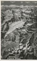 SCHWEIZ GRIMSEL- Und FURKA-PASS, Ca. 1920 Ungebr. S/w RP AK (Photoglob-Wehrli & Vouga & Co. A.-G., Zürich - Nr. L 9672), - VS Valais