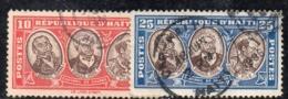 APR2953 - HAITI 1936 , Yvert N. 274/275  Usata  (2380A) - Haiti