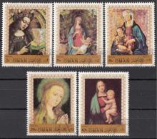 Oman 1970 Natale Christmas Madonna Col Bambino Quadro Dipinto Paintings - Madonna