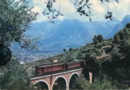 Eisenbahn,Mallorca,Soller, Gelaufen - Eisenbahnen